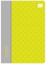 Zeszyt A5 60 kartek, kratka - polipropylen mix