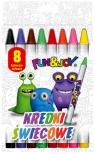 Kredki świecowe Fun&Joy 8 kolorów