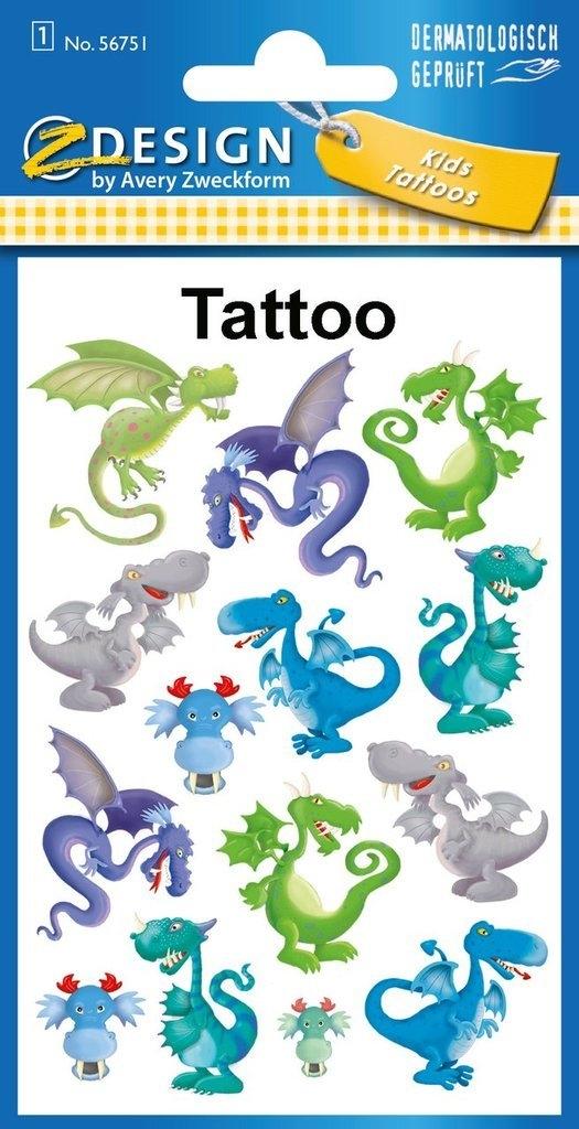 Tatuaże Dla Dzieci Smoki 56751