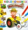 Mały chłopiec Traktor Kolorowanka