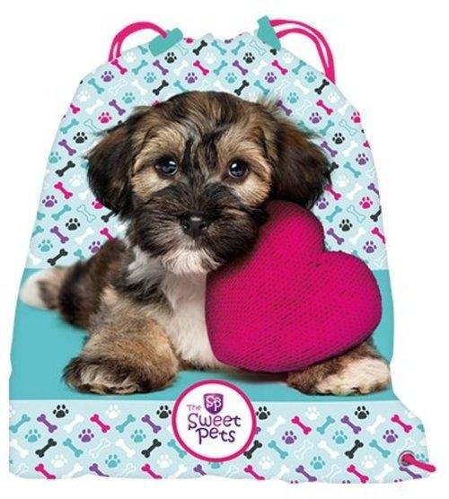 Worek na gimnastykę - Pies The Sweet Pets