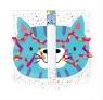 Karnet rozkładany - Kot
