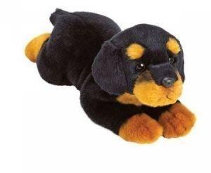 Rottweiler 35 cm leżący  (12051)