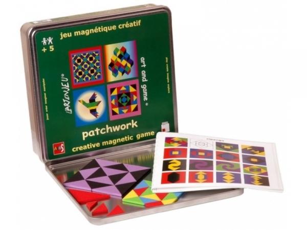 Układanka magnetyczna. Zestaw Patchwork - sztuka w zabawie (JPAT0051)