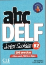 ABC DELF B2 junior scolaire ks+DVD+zawartość online 2ed Payet Adrien, Sanchez Claire