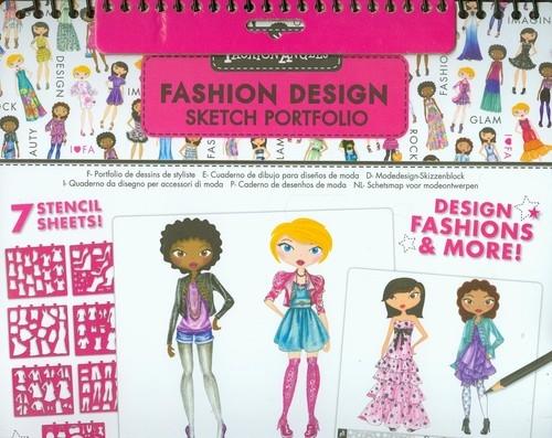 Fashion Angels Szkicownik Projektowanie mody
