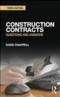 Construction Contracts David Chappell