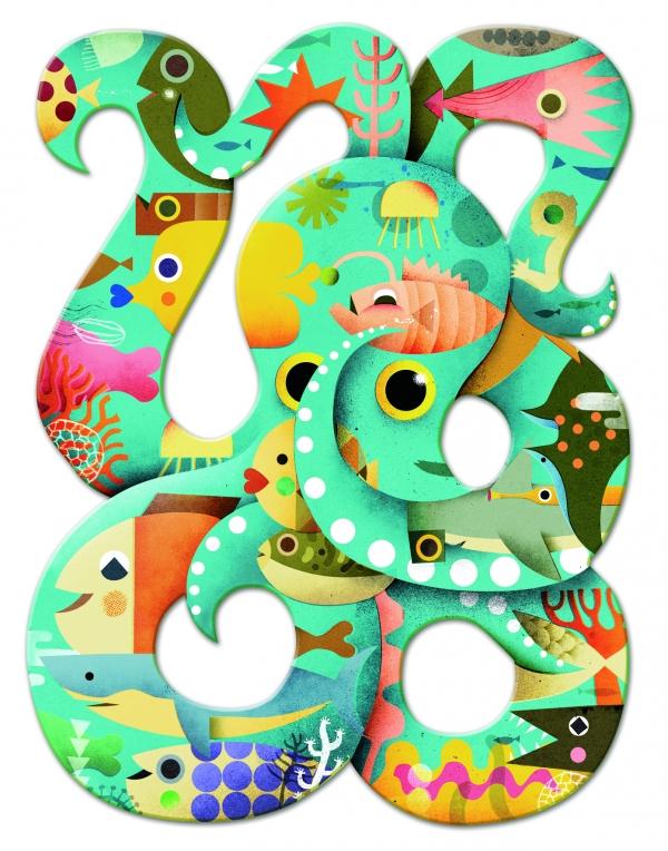 Puzzle Art Ośmiornica (DJ07651)