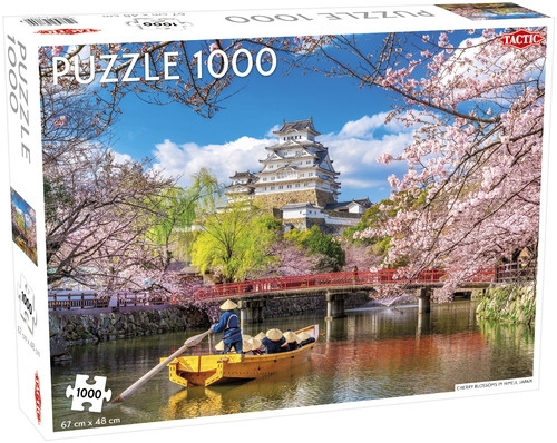 Puzzle Cherry Blossoms in Himeji 1000 el /56751/