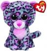 Beanie Boos Tasha - szaro-różowy leopard średni