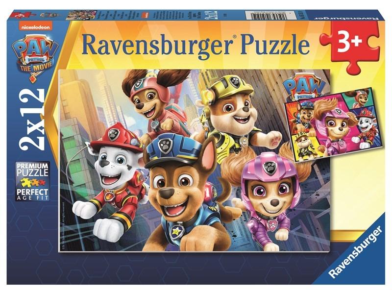Puzzle dla dzieci 2w1: Psi Patrol Film (05151)