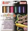 Farby w sztyfcie Paycolor pocket metallic 6 kolorów