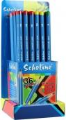 Ołówki zwykłe Scholine trójkątny opakow.36 szt.