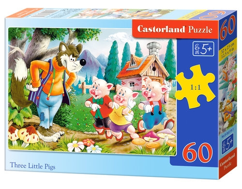 Puzzle 60: Three Little Pigs (06519)