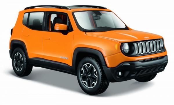 Jeep Renegade Pomarańczowy 1/24 (10131282/2)