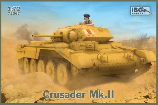 Model plastikowy Crusader Mk.II British Cruiser Tank (72067)