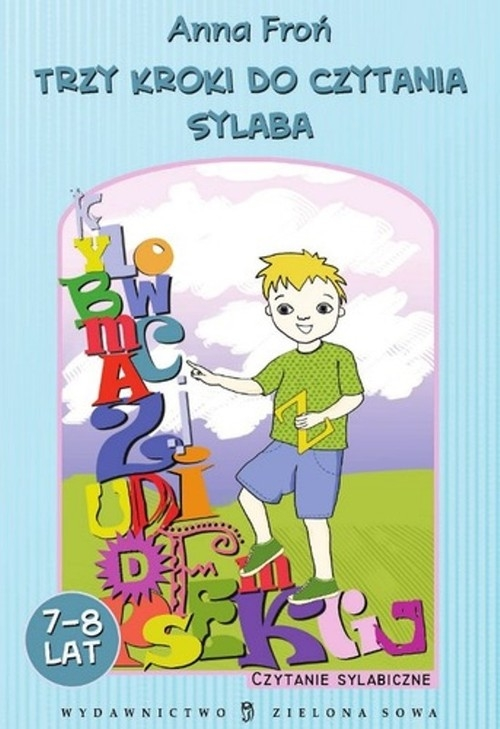 Trzy kroki do czytania sylaba 7-8 lat Froń Anna