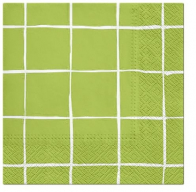 Serwetki Paw Travel Maker anise green - mix 330 mm x 330 mm (TL200906A)