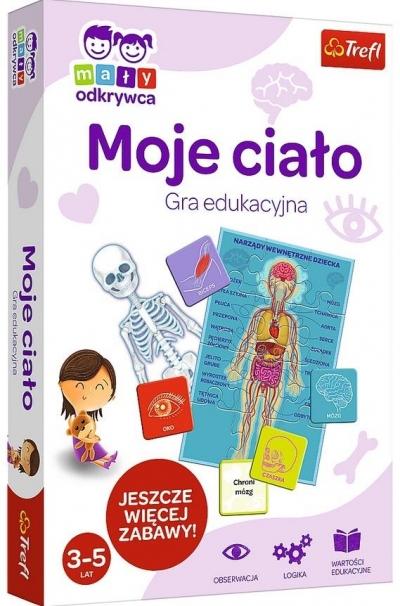 Mały Odkrywca: Moje ciało. Gra edukacyjna (01952)