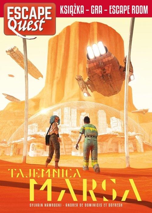 Tajemnica Marsa. Escape Quest Nawrocki Sylvain