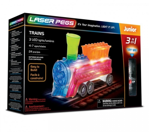 3 in 1 Trains (31013)