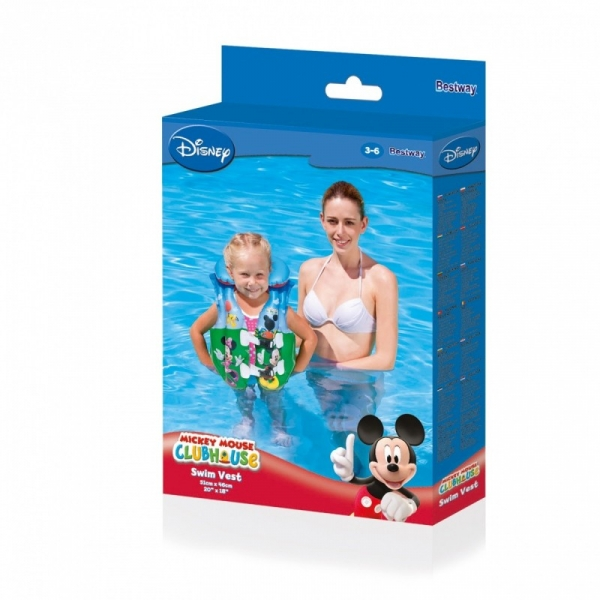 Kamizelka do nauki pływania Minnie&Miki (91030)