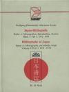 Japan Bibliografie 1951-1970 Series A v 3/1 Marianne Kocks, Wolfgang Hadamitzky