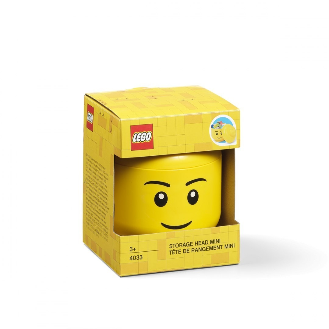 LEGO, Pojemnik mini głowa - Chłopiec (40331724)
