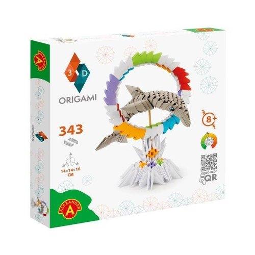 Origami 3D Delfin