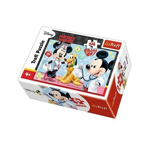 Puzzle mini 54: Mickey Mouse - Jaki to zawód 4 (19552)