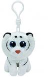 Maskotka brelok Beanie Babies: Tundra - biały tygrys (36652)
