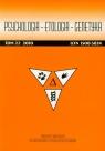 Psychologia-etologia-genetyka t.22/2010