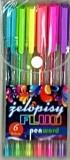 Żelopis fluo 6 kolorów premium (2012-6)
