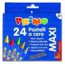 Kredki woskowe Primo Maxi 24 kolory