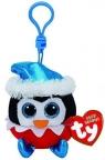 Maskotka-brelok Beanie Babies: Sugarplum - pingwin (35107)