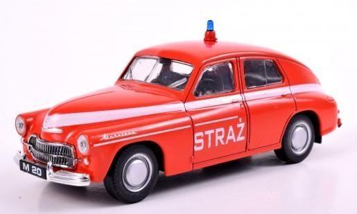 Kolekcja PRL-u Warszawa M-20 Straż