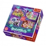 Puzzle 4w1 Zabawa z pupilami Enchantimals