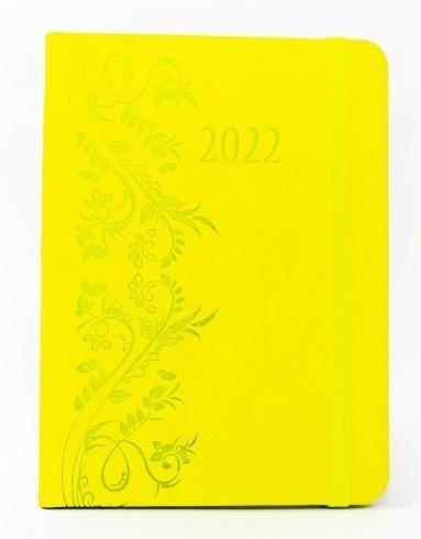 Terminarz 2022 tyg. A6 Vivella gumka MIX