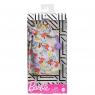 Barbie: Modne kreacje - sukienka biała w kwiatki (FND47/GHW84)Wiek: 3+