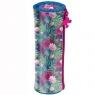 Piórnik tuba Barbie w kwiaty