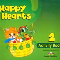 Happy Hearts 2 Activity Book Dooley Jenny, Evans Virginia
