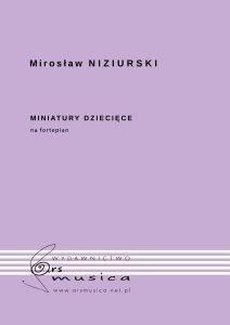 Miniatury dziecięce na fortepian Mirosław Niziurski