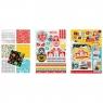 Blok kreatywny z naklejkami A4 - Folk (314602)
