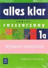 Alles klar 1a zakres rozsz Język niemiecki kl 1 Podręcznik z ćwiczeniami i Łuniewska Krystyna i in.