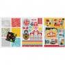 Blok kreatywny A4 z naklejkami Folk (314602)