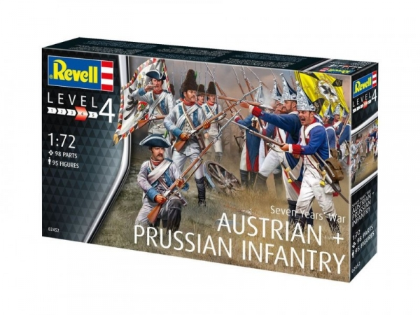 Seven Years War Austtrian & Prussian Infantry (02452)