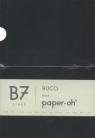Notatnik B7 Paper-oh Buco Black w linie