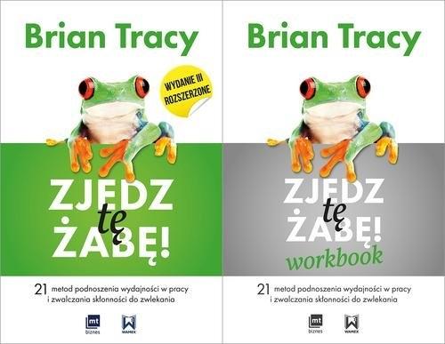 Pakiet Zjedz tę żabę + Zjedz tę żabę Workbook Tracy Brian