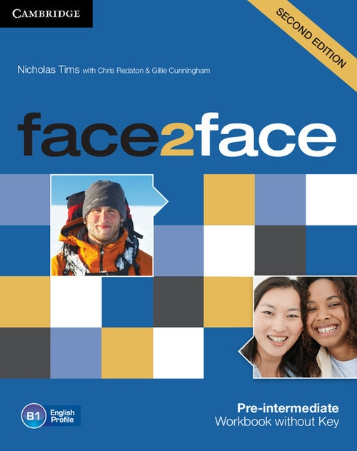 face2face Pre-intermediate Workbook without Key Tims Nicholas, Redston Chris