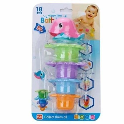 Zabawka do wody delfinek + 4 foremki